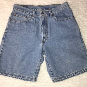 Levi's Denim Shorts 550 W32